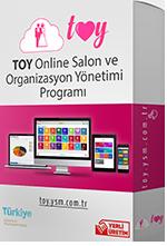 Toy Online Salon ve Organizasyon Yönetimi Programı